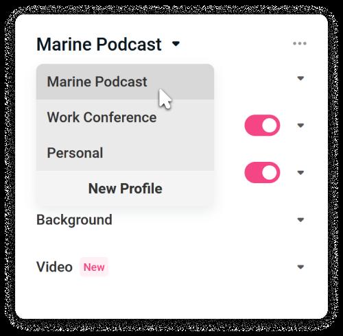stream-profiles